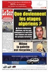 le soir d algerie du 12 08 2012