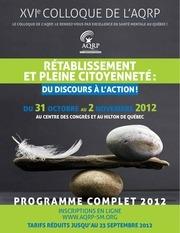 programme colloque aqrp 2012