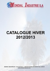 catalogue hiver 2012 2013 mondial industrie luxembourg