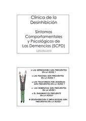 clinica de la desinhibicion