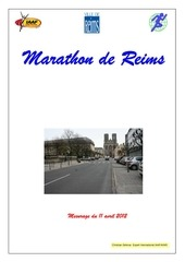 marathon points kilometriques et reperes reims a toutes jambes 2