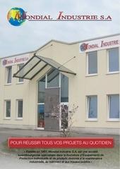mondial industrie plaquette 2012