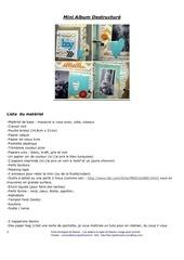 Fichier PDF fiche technique mini album destructure