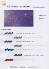 Fichier PDF brochure polyester glitter