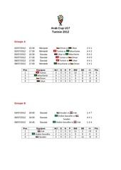 arab cup u17 2012