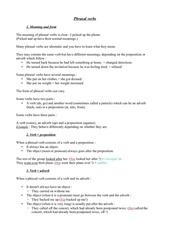 module d anglais phrasal verbs