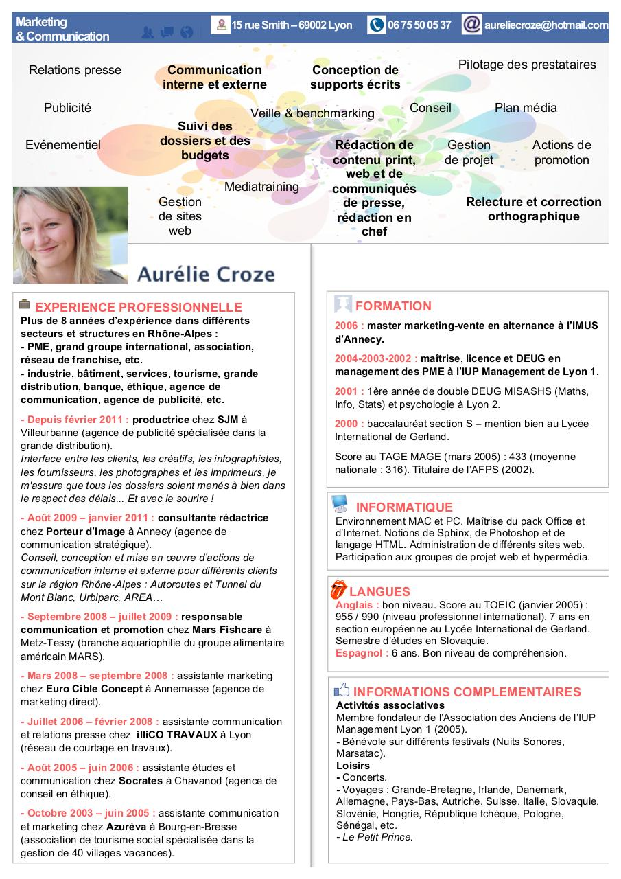 cv doc par utilisateur1 - cv pdf