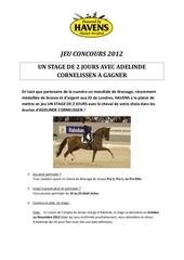 Fichier PDF jeu concours havens 2012