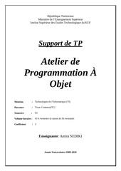 Fichier PDF atelier programmation a objet