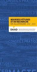 bourses daad 2012 2013