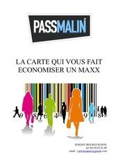 infos passmalin