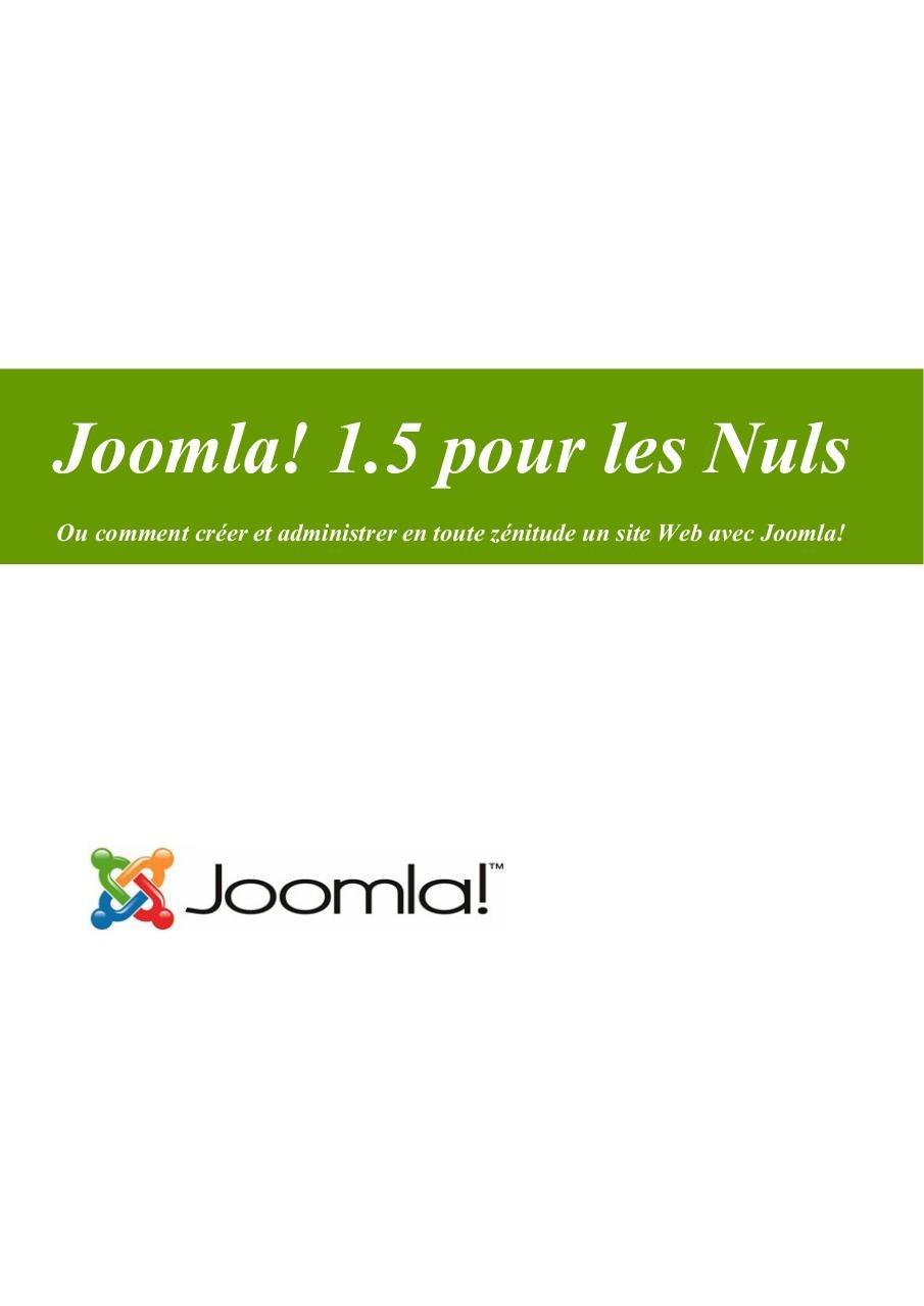JOOMLA 1.5 CHRONOFORMS POUR TÉLÉCHARGER