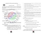 reglamento internov campeonato de f tbol de sal n sotaquira 2012