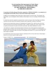 article portes ouvertes septembre 2012 presse