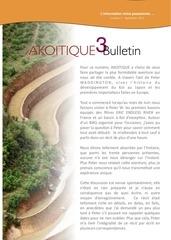 bulletin akoitique numero 3 extract