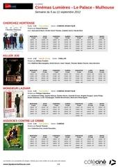 Fichier PDF cinemas lumieres le palace mulhouse semaine du 5 au 11 septembre 2012