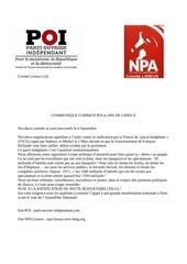 communique commun poi npa lisieux