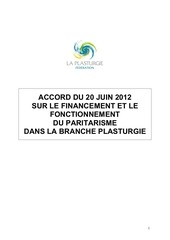 plasturgie accord paritarisme 06 2012