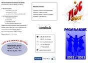 programme 2012 2013
