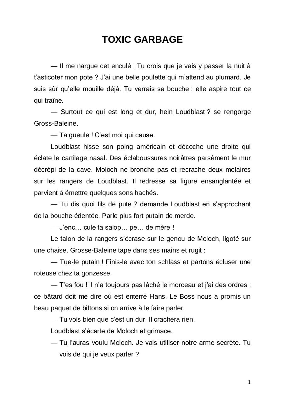 Aperçu du document TOXIC GARBAGE.pdf - page 1/4