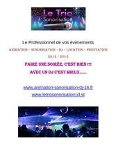book tarifs 2012 2013