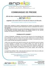 communique presse parcours chaotiques oct2012