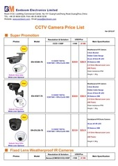 eonboom cctv camera price list 2012 07a rossa