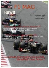 Fichier PDF f1 mag numero 1