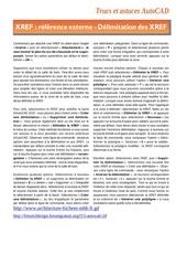 Fichier PDF delimitation des xref sous autocad
