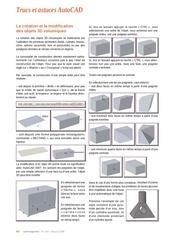 la creation et la modification des objets 3d volumiques sous aut