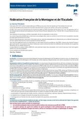 2013 notice assurance