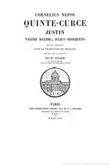 cornelius nepos julius obsequens livre des prodiges 1