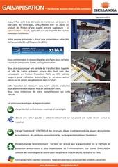 dho info galvanisation 09 2012