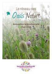 oasisnature depliant