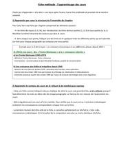 Fichier PDF fiche methode apprentissage cours 1s