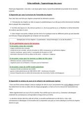 Fichier PDF fiche methode apprentissage cours tle