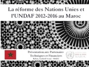 reforme des nations unies et lundaf 2012 20161