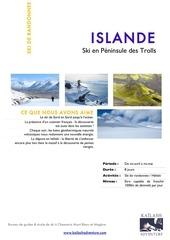 ski de rando en islande version 2