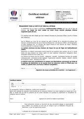 Fichier PDF certificat medical veteran