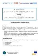 Fichier PDF exercice swot praia