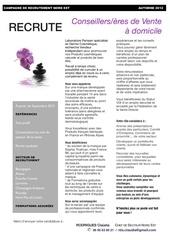 Fichier PDF affiche offre d emploi nord est