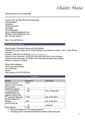 contrat loc morzine chalet maia 16 23 mars 2013