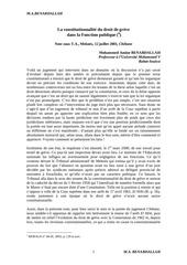 Fichier PDF la constitutionnalite du droit de greve