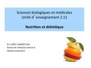 ue 2 11 s3 nutrition et dietetique