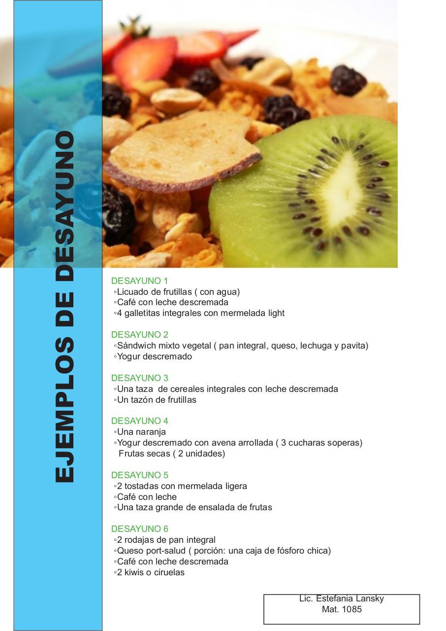 Desayunos Saludables3 Fichier Pdf