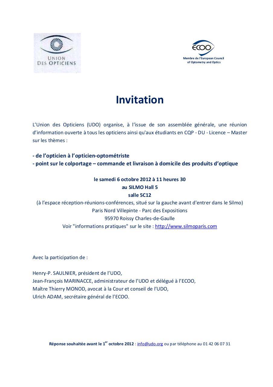 texte invitation reunion a domicile