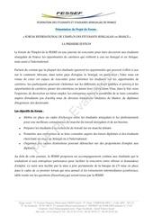 presentation forum programme provisoire fessef