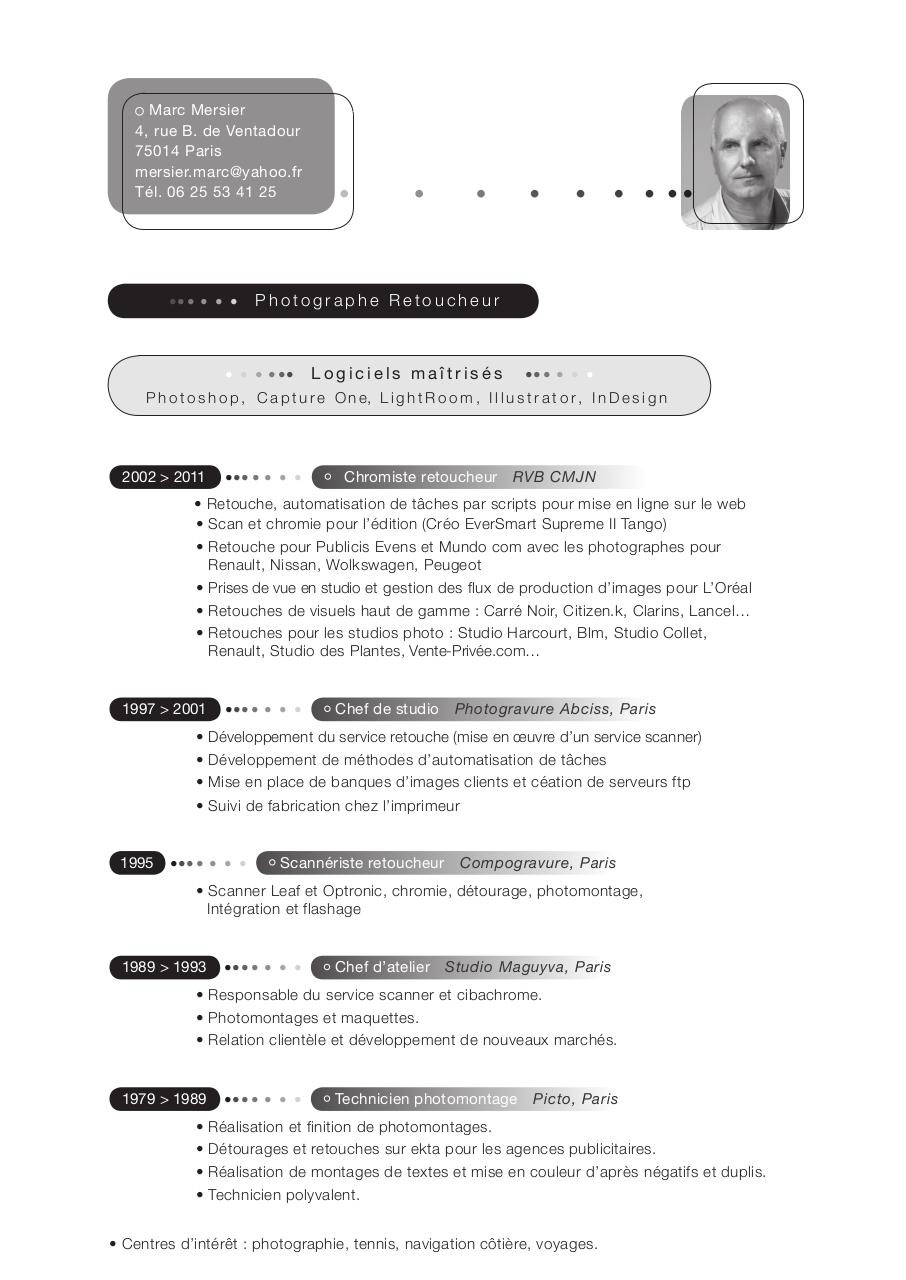cv m mersier 2012