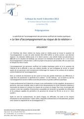 preprogramme colloque oeuvre falret du 4 dec 2012