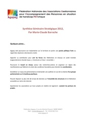Fichier PDF synthese seminaire strategique 2012